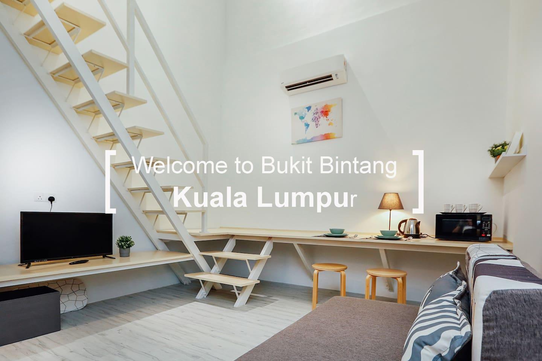Brand new entire apartment  @ Bukit Bintang