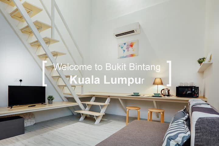 KS03 -Truly Bright & Stylist Room in Bukit Bintang