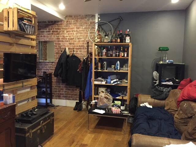 Cozy Harlem 2BR w/ laundry! - Нью-Йорк - Квартира