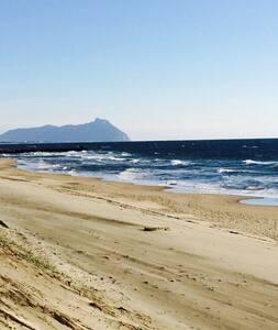 tra le dune di Sabaudia e il Parco - Talo