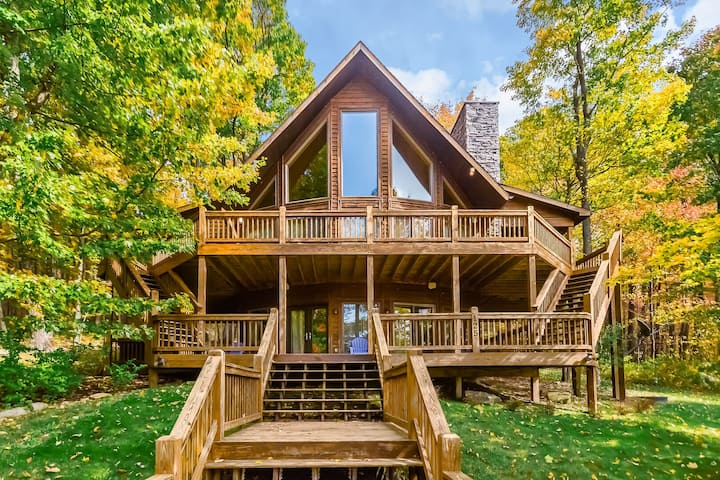 High Country Home is 5-10 Minutes from Deep Creek Activities!