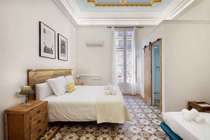 Triple Room superior with Balcony