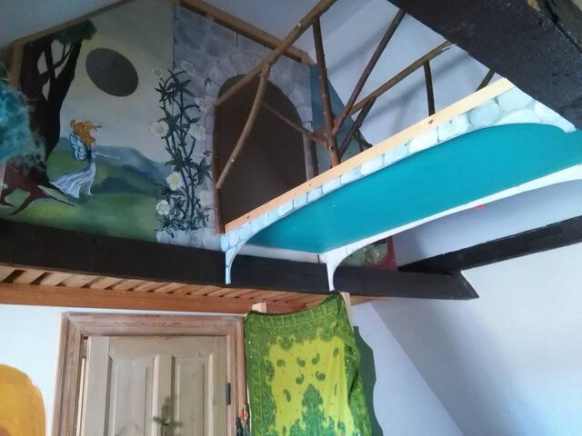 Unik og børnevenligt lejlighed - Humlebæk - Appartement