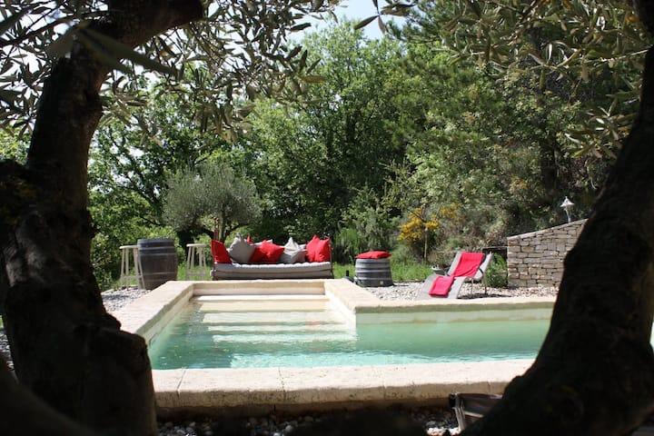 La Maison dans Les Pins   Ardèche