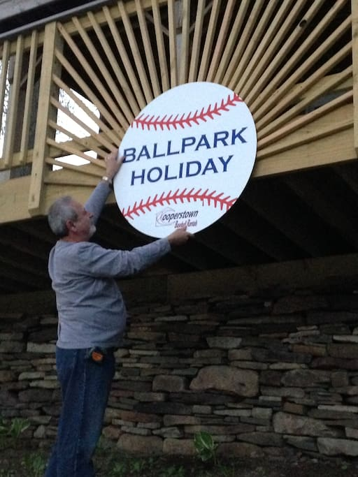 """Close to Cooperstown Dreams Park and All-Star Village.  Make """"Ballpark Holiday"""" your vacation home for the week"""