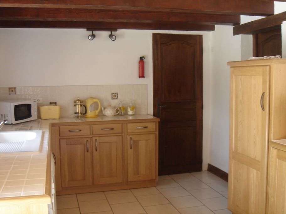 Well equipped kitchen in Grand Soleil.