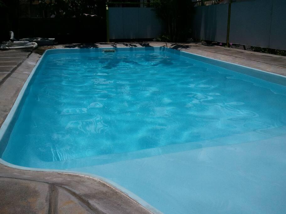 Villa la cygognes with private swimming pool villas for for Swimming pool mauritius
