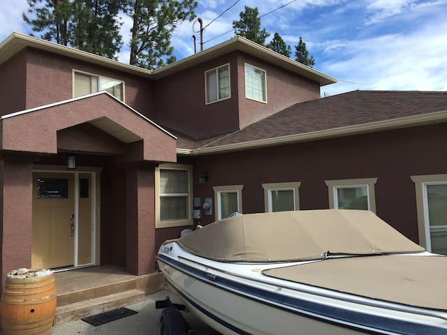 Skaha Lake Kaleden Modern Home - Kaleden - Ev