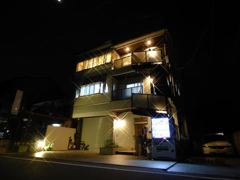 ☆20㎡☆10min to Arashiyama, Bamboo,Monkey park!
