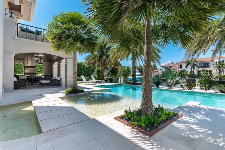 Incredible Waterfront Estate with Luxury Amenities