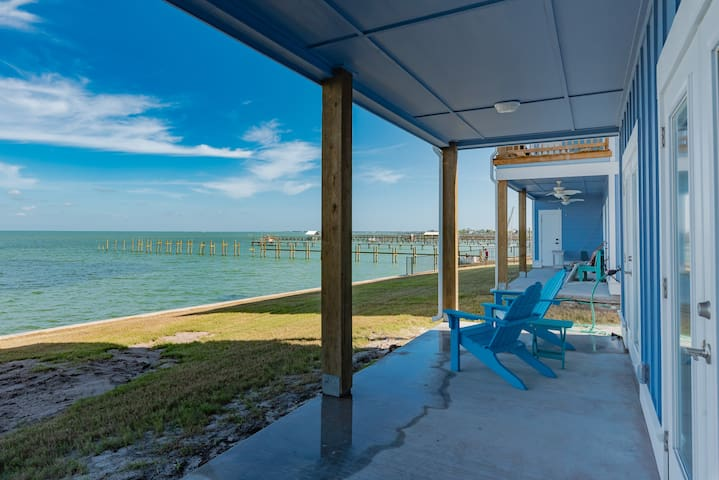 Copano Breeze Waterfront Condo on Copano Bay