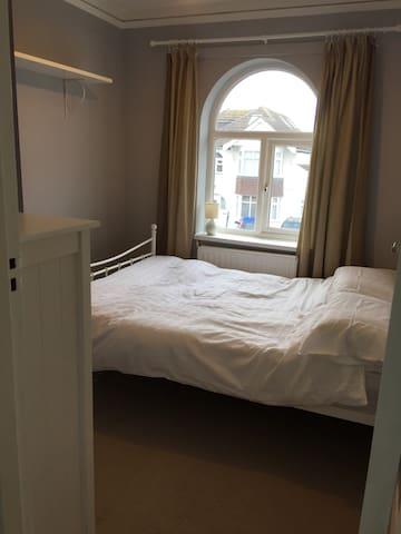 Comfy bedroom and quiet street