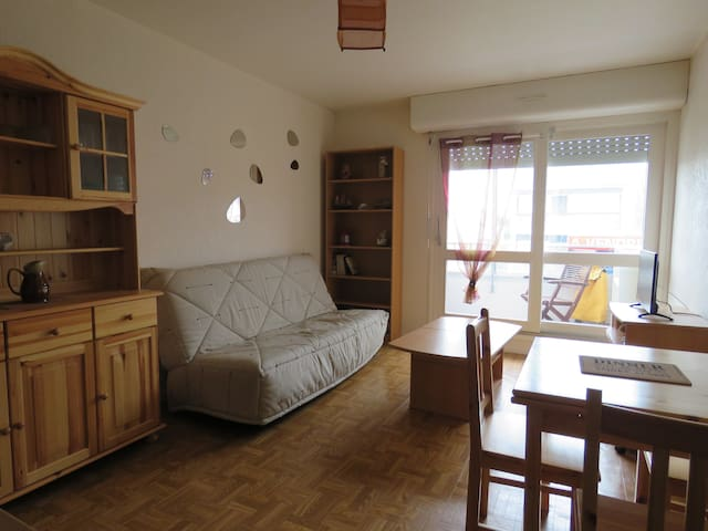 location appartement F2 courseulles/mer juno-beach - Courseulles-sur-Mer - Apartamento