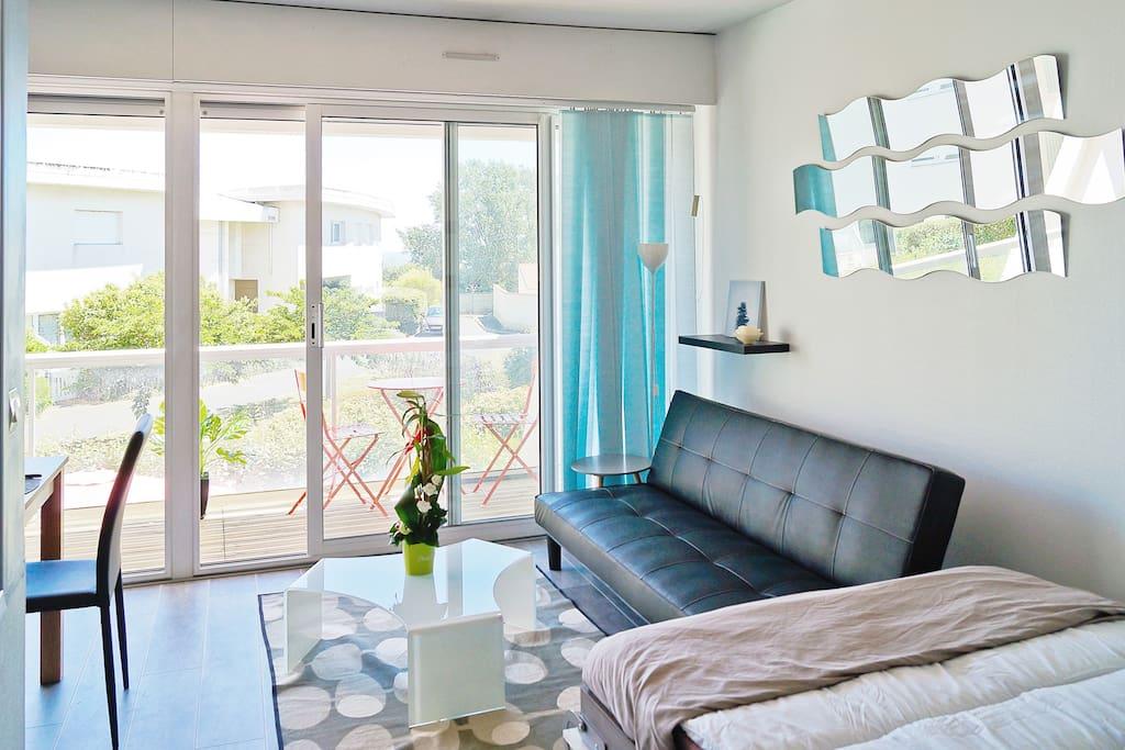 loft vue mer haut standing appartamenti in affitto a la rochelle poitou charentes francia. Black Bedroom Furniture Sets. Home Design Ideas
