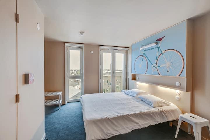 Chambre Double Hyper Confort - Centre de Tours