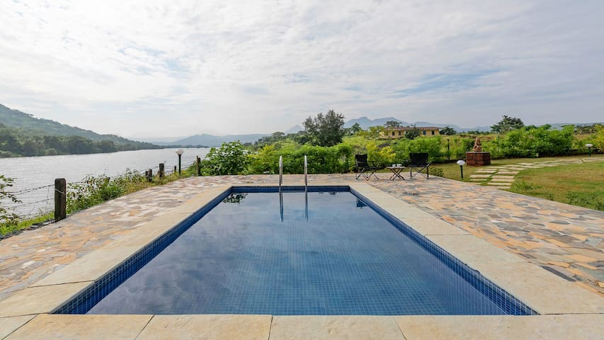 Shivom 3 with Pvt Pool & Scenic view
