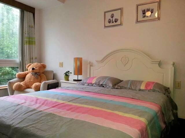 西湖   西溪后花园舒适温馨高档公寓房 - Hangzhou Shi - Appartement