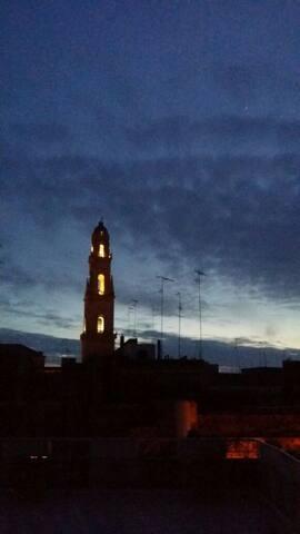Camera matrimoniale con terrazzo  civ.3/D - Lecce - Bed & Breakfast
