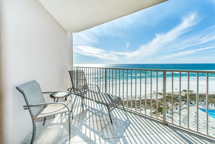 Gulf Front☀3 Gulf Front Pools☀Inspected & Disinfected☀2BR Dunes of Panama 905E