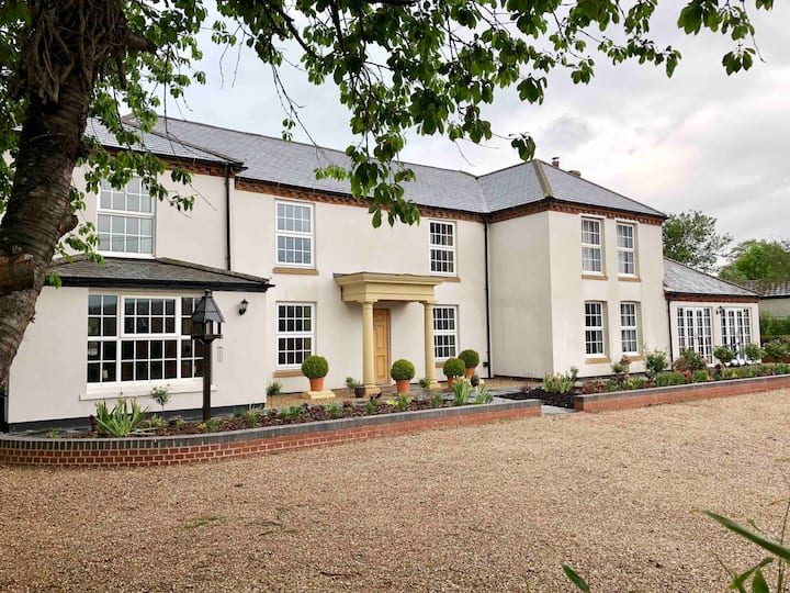 Rooms at The Old Rectory, Catthorpe : 3 doubles
