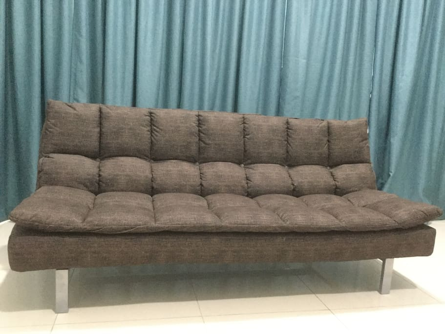 Sofa Bed at Living Hall