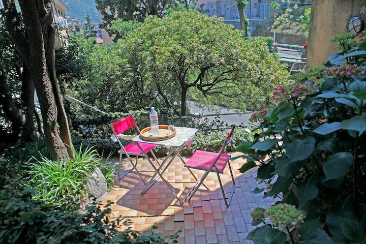 A due passi dal mare, con giardino - Rapallo - Apartament