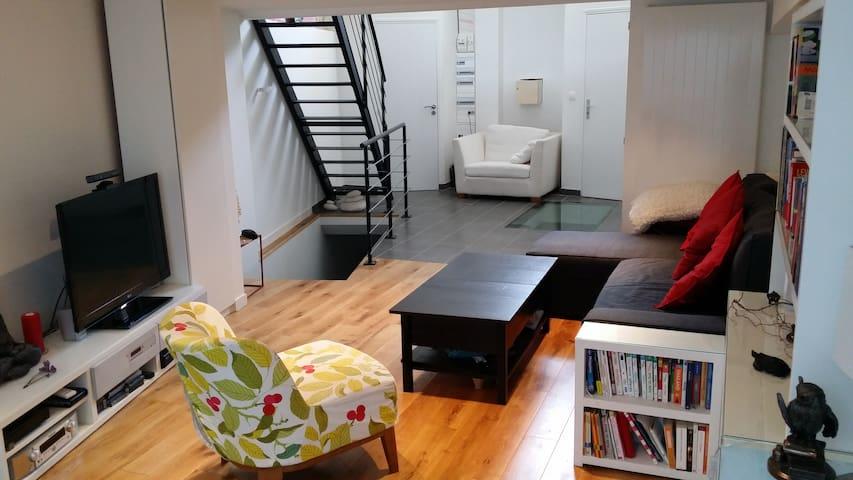 Loft 120 m² metro Line 9