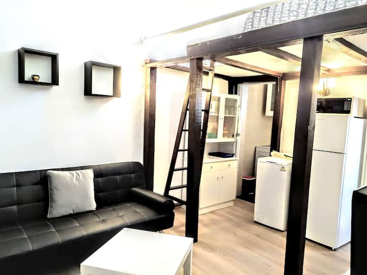 Attic in the heart of Madrid