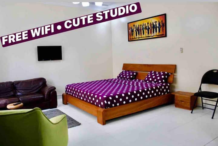 ❤️Your Cute Studio❤️free wifi and free parking