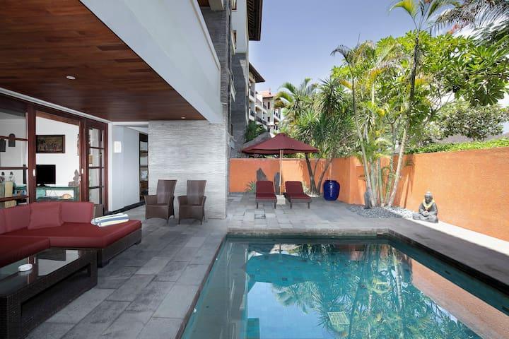 Ruby 3 Bedroom Suite with Pool in Nusa Dua, Bali
