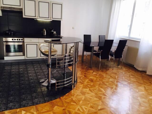 Cosy apt. with XXXL bed in Vienna - Wiedeń - Apartament