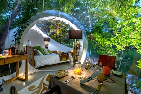 Bubble Lodge : exclusive experience with Nature - Bois Cheri