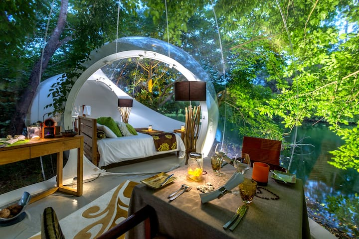 Bubble Lodge : exclusive experience with Nature