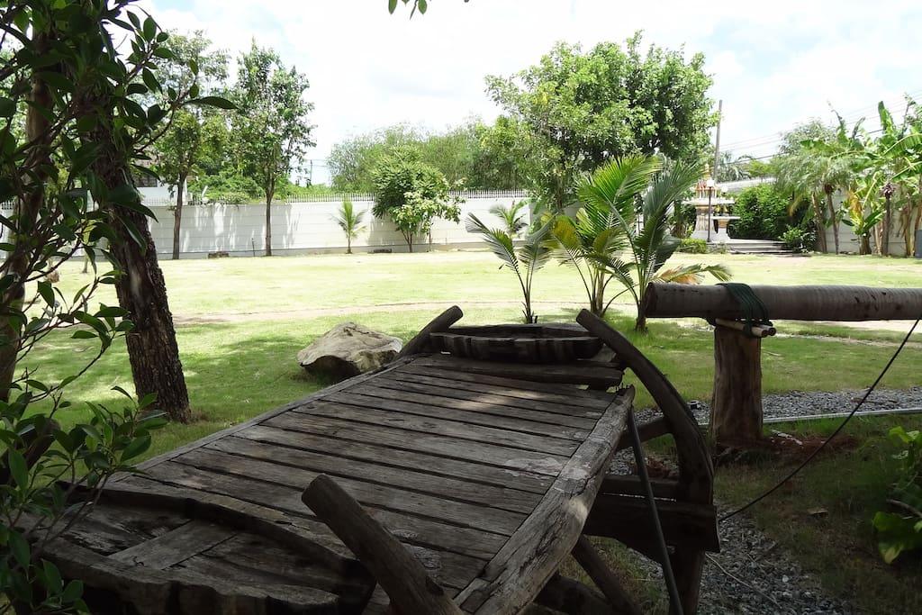 Front field garden