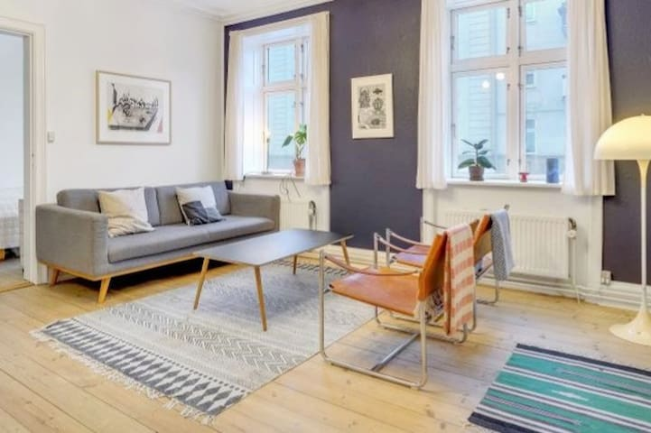 Nordic Style Apartment at hip Østerbro