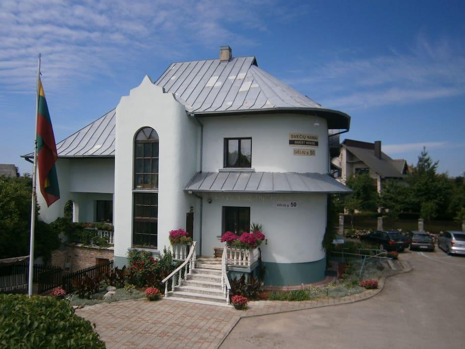 Nemunas Tour Guesthouse in Ringaudai