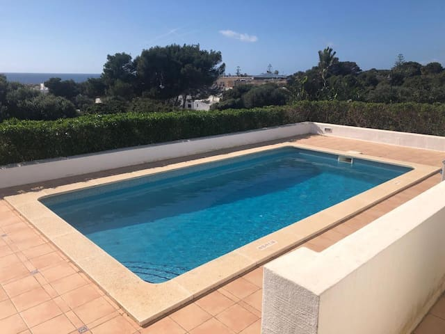 "Beautiful Holiday Home ""Bini S Aigo"" with Sea View, Mountain View, Wi-Fi, Balcony, Garden, Terraces & Pool; Parking Available"