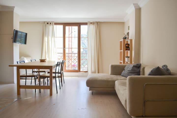 Cozy bright apartment central area Istanbul - Şişli - Квартира