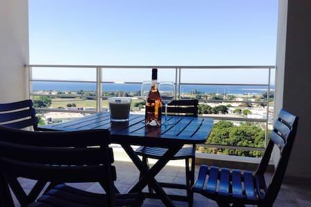 T2 neuf, vue mer, proche plage - Ajaccio