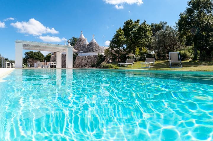 Special Promo -15% HelloApulia Trulli Santa Maria dei Grani: Holiday Rental Trulli with private pool