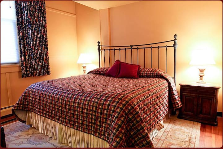 Deluxe King Room at B & B just steps to the beach!