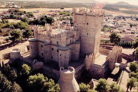 Casa agradable y silenciosa, Castillo Guadamur.