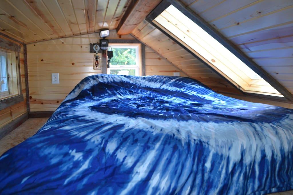 Cozy-Comfy loft sleeping...