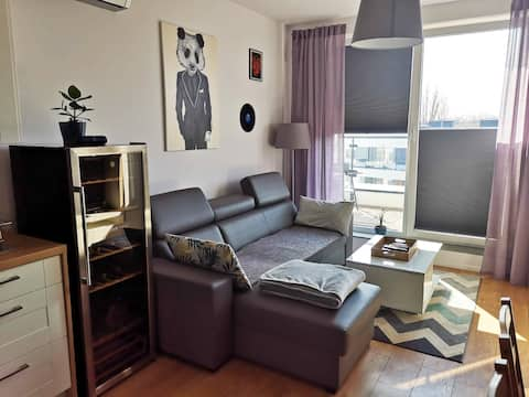 Warsaw Sunset & Chill Apartment
