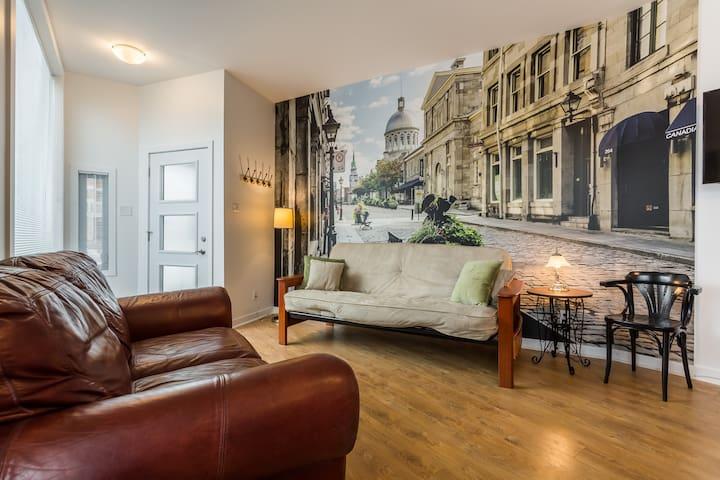 Votre pied à terre à Montréal