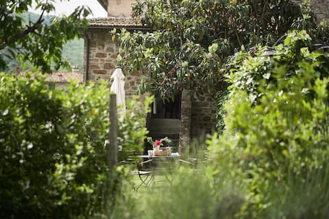 FARMHOUSE APARTMENT BETWEEN FLORENCE AND SIENA
