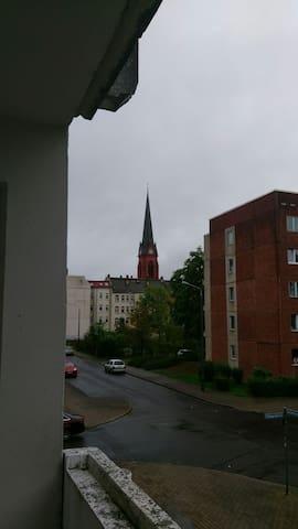 Central small apartment in Leipzig - Leipzig - Departamento