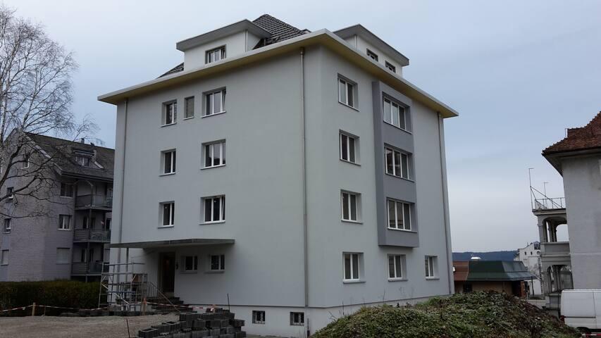 2.5 Zi-Apartment, Küche, Nasszelle, Extras