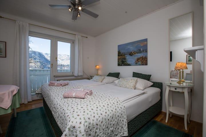 B&B Pletna  a double lake view room