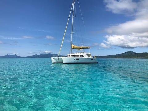 Catamaran  Lagoon  440  Lagon de Bora-Bora